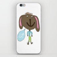 FLUFFY PUPPY iPhone & iPod Skin