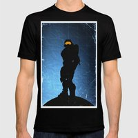 Halo 4 - Sierra 117 Mens Fitted Tee Black SMALL