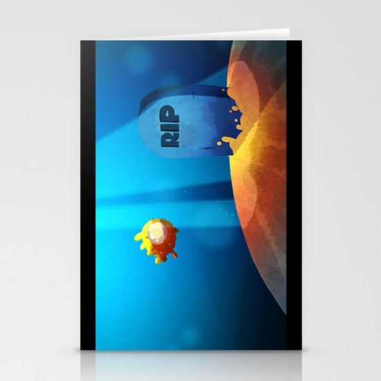 Puffer Stationery Card