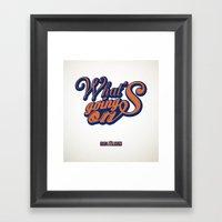 HipHop Anthem : Eric B & Rakim Framed Art Print