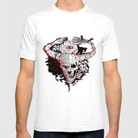 Minotaur Mens Fitted Tee White SMALL