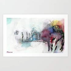 Nothing Changes Art Print