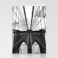 Brooklyn Bridge Old School Stationery Cards