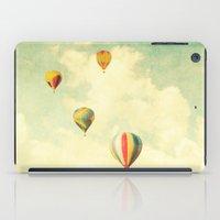 Drifting Balloons iPad Case