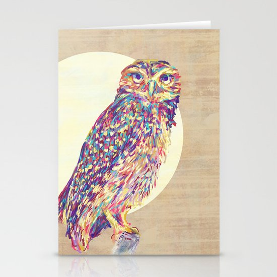 Owl  Stationery Card