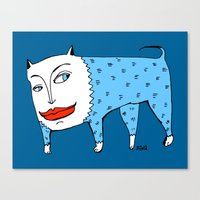 Doggie Canvas Print