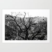 Castle Tree Art Print