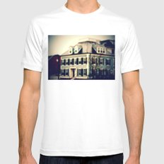 Toy History White Mens Fitted Tee SMALL