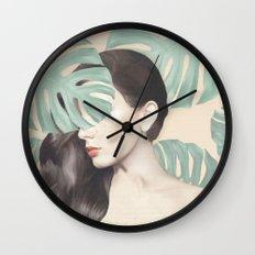 Monstera Suara Wall Clock