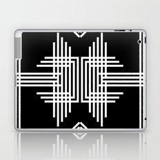 Tribal Black & White Laptop & iPad Skin