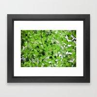 Birch Leaves 5051 Framed Art Print