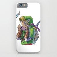 zelda iPhone & iPod Cases featuring Zelda by Melina Espinoza