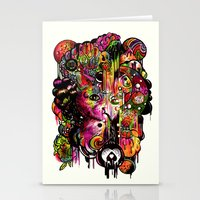 Amygdala Malfunction Stationery Cards