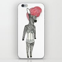 Sexy Zebra iPhone & iPod Skin