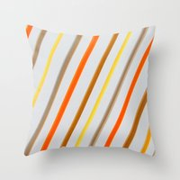 Linear Throw Pillow