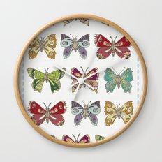 Butterfly butterfly Wall Clock