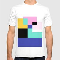 Tile Harmony Mens Fitted Tee White SMALL