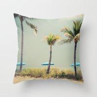 Storm Brewing Throw Pillow