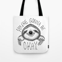 Slothspiration Tote Bag