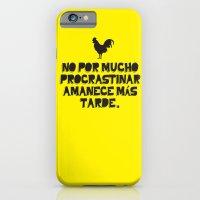 iPhone & iPod Case featuring Procrastination by Ana Laya