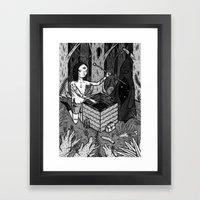 THE RITUAL Framed Art Print