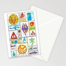 Fandoms Stationery Cards