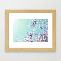 Under a Blue Sky Framed Art Print