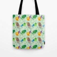 Bugs Pattern Tote Bag