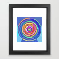 Visualize The Colors Framed Art Print