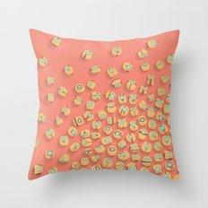 microrobots Throw Pillow