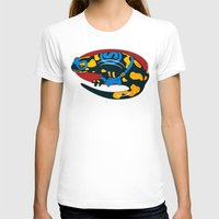 Salamander Womens Fitted Tee White SMALL