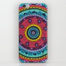 Rainbow Mandala iPhone & iPod Skin