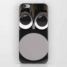 Gothic owl iPhone & iPod Skin