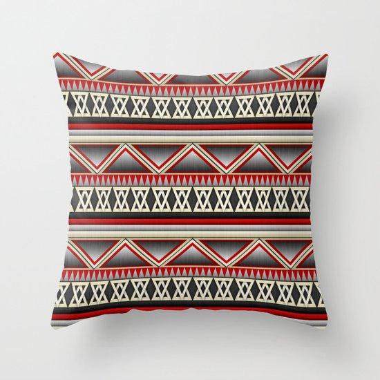 Dark Romance Tribal Throw Pillow