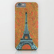 Eiffel Tower Drawing Med… iPhone 6 Slim Case