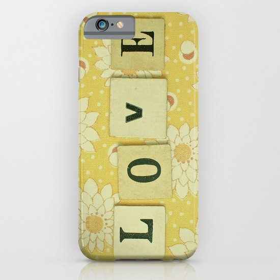 Love No.4 iPhone & iPod Case