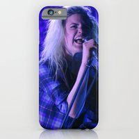 iPhone & iPod Case featuring Alison Mosshart // The Kills by Hattie Trott