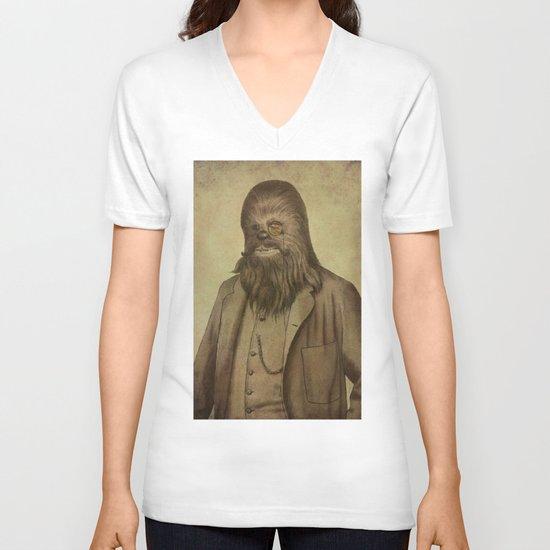 Chancellor Chewman  V-neck T-shirt