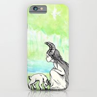 iPhone & iPod Case featuring Welcome Home Capra Princess by K-NIZZY
