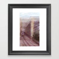 Puntos de vista Framed Art Print