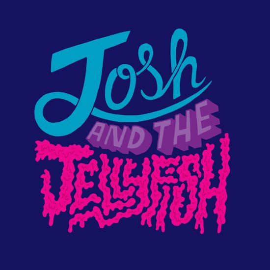Josh and the Jellyfish Art Print
