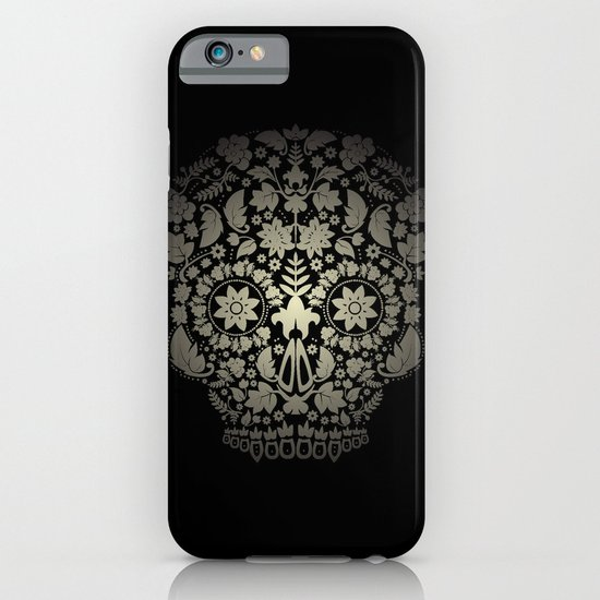 Day of the Dead Skull No.16 iPhone & iPod Case