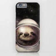 Space Sloth  iPhone 6 Slim Case