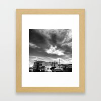 CafeTazo SF Street Photo Framed Art Print