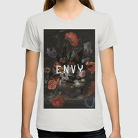 Envy Womens Fitted Tee Silver SMALL