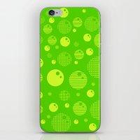 Bubblemagic - Lime iPhone & iPod Skin