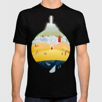 My Journey Mens Fitted Tee Black SMALL