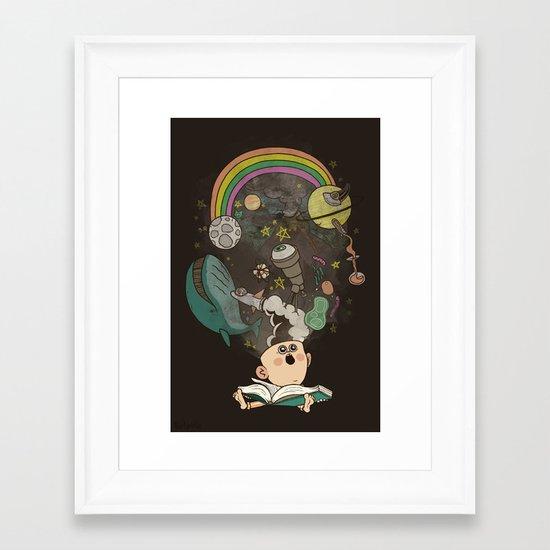 Let's Go Explore Framed Art Print