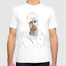 A good man Mens Fitted Tee White SMALL
