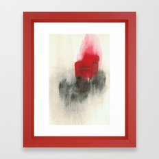 Combustion Framed Art Print